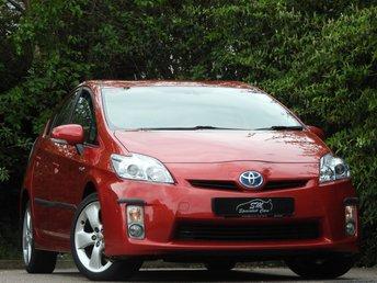 2010 TOYOTA PRIUS 1.8 T SPIRIT VVT-I 5d AUTO 99 BHP £9690.00