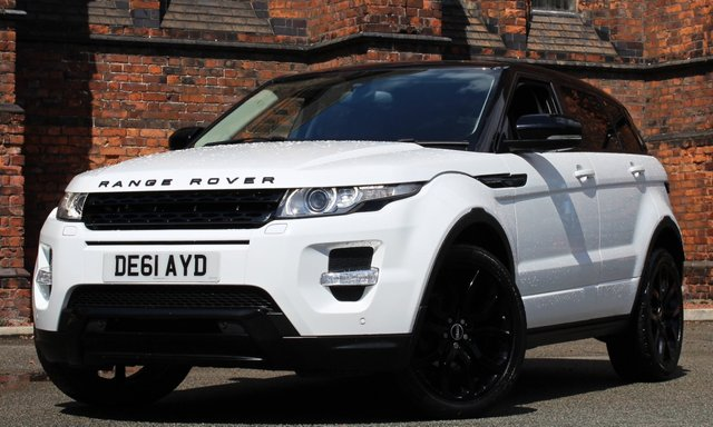 2011 61 LAND ROVER RANGE ROVER EVOQUE 2.2 SD4 DYNAMIC 5d AUTO 190 BHP [BLACK PACK]