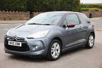 USED 2010 10 CITROEN DS3 1.6 DSTYLE 3d 120 BHP Finance Options Available - Good Credit / Bad Credit