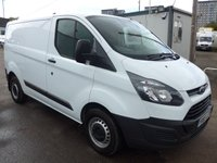 2015 FORD TRANSIT CUSTOM 2.2 270 SWB LOW ROOF, 99 BHP [EURO 5] £9995.00