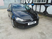 2011 VOLKSWAGEN GOLF 1.6 MATCH TDI BLUEMOTION TECHNOLOGY 5d 103 BHP £4896.00