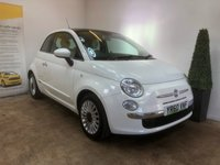 USED 2010 60 FIAT 500 1.2 LOUNGE 3d 69 BHP SERVICE HISTORY+PANROOF+AIRCON