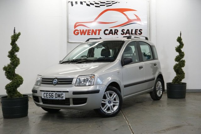 USED 2006 56 FIAT PANDA 1.2 ELEGANZA 5d 59 BHP ONLY 12K MILES! VERY GOOD CONDITION