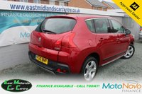 USED 2010 10 PEUGEOT 3008 1.6 EXCLUSIVE 5d 120 BHP RED PETROL