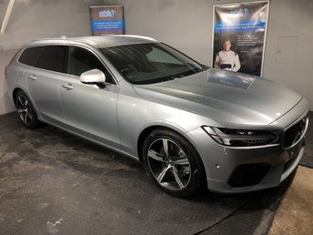 2017 VOLVO V90 2.0 D5 POWERPULSE R-DESIGN AWD 5DOOR AUTO 231 BHP £23750.00