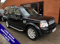 "USED 2013 63 LAND ROVER DISCOVERY 3.0 4 SDV6 XS AUTO 255 BHP Family 7-Seater        :        Satellite Navigation        :        Cruise Control / Speed Limiter      Bluetooth Connectivity       :       Heated Front Seats       :       Full Black Leather Upholstery        Rear View Parking Camera : Front & Rear Parking Sensors : 19"" Alloy Wheels  Comprehensive Service History"