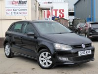 USED 2013 13 VOLKSWAGEN POLO 1.2 MATCH EDITION 5d 59 BHP 2 OWNERS | PARKING SENSORS