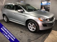"""USED 2011 11 VOLVO XC60 2.4 D5 R-DESIGN AWD 5DOOR AUTO 212 BHP Satellite Navigation : USB & AUX Sockets : Cruise Control : Bluetooth Connectivity   R-Design Steering Wheel     :     Heated Front Seats     :     Full Black Leather Upholstery      Rear Entertainment System : Auto Tailgate : Rear Parking Sensors : 18"""" Alloy Wheels  Comprehensive Service History"""