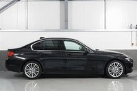 USED 2014 14 BMW 3 SERIES 2.0 320D LUXURY 4d 184 BHP STUNNING SAPPHIRE BLACK PAINT WORK, BLACK LEATHER INTERIOR, HEATED SEATS, ALLOY WHEELS, SAT NAV, CRUISE CONTROL, BLUETOOTH, DAB RADIO, BMW REFINEMENTS, LOW MILEAGE, BMW SERVICE HISTORY