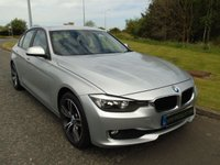"USED 2012 12 BMW 3 SERIES 2.0 320D EFFICIENTDYNAMICS 4d 161 BHP UPGRADED 18"" ALLOYS, BLUETOOTH"