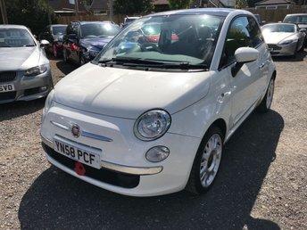 2008 FIAT 500 1.4 LOUNGE 3d 99 BHP £2999.00