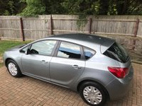 USED 2011 60 VAUXHALL ASTRA 1.4 EXCLUSIV 5d 98 BHP FULL SERVICE HISTORY