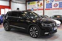 2017 VOLKSWAGEN TIGUAN 2.0 R LINE TDI BMT 4MOTION DSG 5d AUTO 148 BHP £25749.00