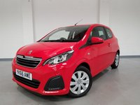 USED 2017 66 PEUGEOT 108 1.0 ACTIVE 3d 68 BHP