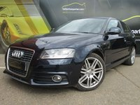 USED 2009 09 AUDI A3 2.0 TDI S LINE 3d 138 BHP DIESEL No Deposit Finance & Part Ex Available