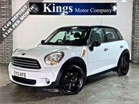 USED 2013 13 MINI COUNTRYMAN 1.6 COOPER D 5dr Bluetooth, Park Assist, 64.2 MPG , Drive Away SAME DAY!! STUNNING