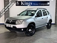 USED 2014 14 DACIA DUSTER 1.5 AMBIANCE DCI 5dr MPV Low Miles, Lovely Example , NEW MOT