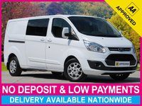 USED 2015 64 FORD TRANSIT CUSTOM 2.2 TDCI LIMITED 6 SEAT COMBI VAN L2H1 LWB 290 130BHP 6 SEAT TWIN SLIDING DOORS AIR CONDITIONING FULL LEATHER