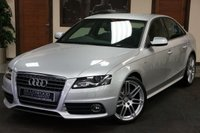 2010 AUDI A4 2.0 TFSI S LINE SPECIAL EDITION 4d 208 BHP £8299.00