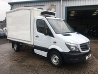 2013 MERCEDES-BENZ SPRINTER 313 MWB REFRIGERATED / CHILLER VAN EX SAINSBURYS VERY CLEAN CHOICE OF £6995.00