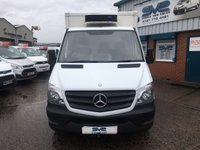 USED 2013 63 MERCEDES-BENZ SPRINTER 313 MWB REFRIGERATED / CHILLER VAN EX SAINSBURYS VERY CLEAN CHOICE OF