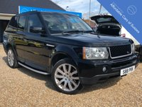USED 2007 07 LAND ROVER RANGE ROVER SPORT 2.7 TDV6 SPORT HSE 5d AUTO 188 BHP FSH - 13 Services in The Best Colour Combo