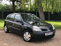 USED 2005 05 RENAULT CLIO 1.1 EXPRESSION 16V 5d 75 BHP