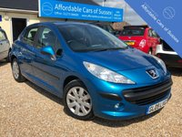 USED 2009 09 PEUGEOT 207 1.6 S HDI 5d 90 BHP Low Mileage, £30 Road Tax, 9 services