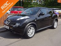 USED 2012 62 NISSAN JUKE 1.6 ACENTA PREMIUM 5dr, AUTOMATIC YES ONLY 49,000 MILES FROM NEW, SERVICE HISTORY