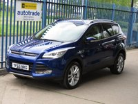 USED 2016 65 FORD KUGA 2.0 TITANIUM X TDCI 5d Sat nav Pan roof Leather Finance arranged Part exchange available Open 7 days