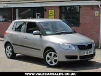 USED 2008 58 SKODA FABIA 1.2 HTP 2 5dr GREAT VALUE FOR MONEY