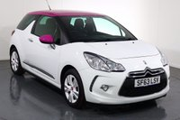 USED 2014 63 CITROEN DS3 1.6 DSTYLE PINK 3d 120 BHP 2 OWNERS From New with 5 Stamp SERVICE HISTORY
