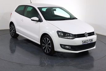 2013 VOLKSWAGEN POLO 1.2 MATCH EDITION 3d 59 BHP £6495.00