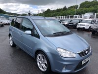 USED 2007 57 FORD C-MAX 1.6 TITANIUM 5d 108 BHP Black leather, heated seats, SONY Hi-Fi. Clutch & Flywheel in 2018
