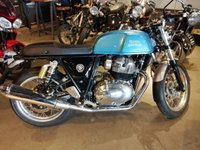 2019 ROYAL ENFIELD CONTINENTAL GT 650 TWIN VENTURA BLUE £5900.00