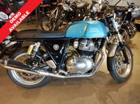 USED 2019 19 ROYAL ENFIELD CONTINENTAL GT 650 TWIN VENTURA BLUE