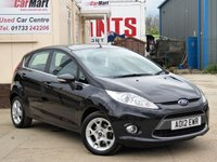 USED 2012 12 FORD FIESTA 1.2 ZETEC 5d 81 BHP 2 OWNERS | BLUETOOTH | F/S/H