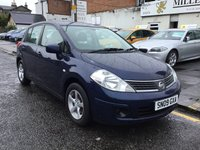 USED 2009 09 NISSAN TIIDA 1.6 IMPORT 5d 109 BHP GREAT CONDITION NISSAN TIIDA WITH GOOD SERVICE HISTORY