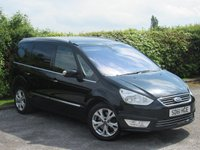 USED 2011 61 FORD GALAXY 2.0 TITANIUM 5d 201 BHP * 7 SEATER * AUTOMATIC DIESEL * RECENTLY SERVICED * 128 POINT AA INSPECTION *