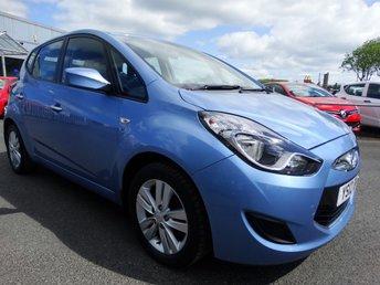 2012 HYUNDAI IX20 1.6 ACTIVE 5d AUTO 123 BHP £6795.00