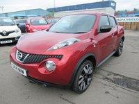2014 NISSAN JUKE 1.6 N-TEC 5d AUTO 115 BHP £7995.00