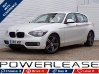 USED 2013 13 BMW 1 SERIES 2.0 118D SPORT 5d 141 BHP