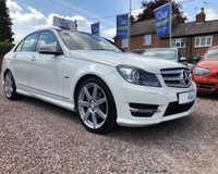 USED 2011 61 MERCEDES-BENZ C CLASS 1.8 C180 BLUEEFFICIENCY SPORT EDITION 125 4d AUTO 156 BHP