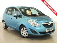 USED 2011 11 VAUXHALL MERIVA 1.4 EXCLUSIV 5d 98 BHP Air Con/Parking Aid Rear