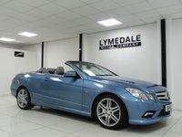 2011 MERCEDES-BENZ E CLASS 1.8 E200 CGI BLUEEFFICIENCY SPORT 2d 184 BHP £11390.00
