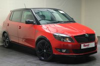 "USED 2012 12 SKODA FABIA 1.6 MONTE CARLO TDI CR 5d 75 BHP AIR CON+REAR PRIV GLASS+17""ALLOYS"