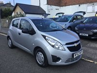 USED 2012 62 CHEVROLET SPARK 1.0 PLUS 5d 67 BHP THIS CHEVROLET SPARK 1.0L IS VERY ECONOMICAL GIVING YOU AN AVRAGE 50 MPG AND WILL ONLY COST £30.00 PER YEAR ROAD TAX.