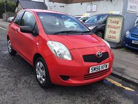 USED 2006 56 TOYOTA YARIS 1.0 ION L 3d 69 BHP EXCELLENT SERVICE HISTORY & 2 KEYS