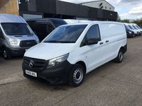 USED 2016 65 MERCEDES-BENZ VITO 1.6 111CDI LONG 114BHP NEW SHAPE. LOW 38,000 MILES. 1 OWNER 0% DEPOSIT FINANCE. 1 OWNER. LOW 38K. F/S/H. PX
