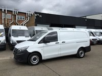 USED 2015 15 MERCEDES-BENZ VITO 1.6 111CDI LONG 114BHP NEW SHAPE. LOW 26,000 MILES. 1 OWNER LOW 26K. F/S/H. LOW FINANCE. PX WELCOME. CHOICE OF 10